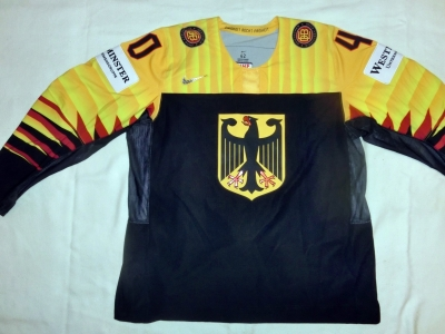Gameworn WM Eishockey Trikot 2018 #92 Marcel Noebels