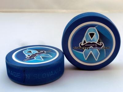 Charity Eishockey Puck blau 2019