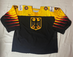 Gameworn Trikot WM 2021 #90 Felix Brückmann
